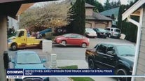 Detectives seek tow truck seen stealing Prius possibly for catalytic converter