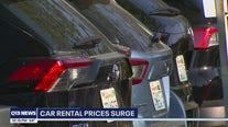Rental cars surge in price