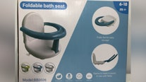 Recall: Foldable infant bath seat sold on Amazon recalled over drowning hazard