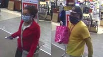 Help ID suspects wanted after store worker stabbed during robbery