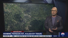 Pedestrian killed by train in Snohomish County