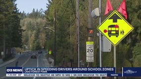 Slow down: Lake Forest Park police see uptick in drivers speeding around school zones