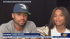 Russell Wilson, Ciara give $35k to Seattle middle school students