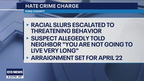 Shoreline woman charged with hate crime, accused of threatening Asian-American neighbor