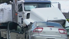 Wrong-way driver dies after crashing head-on with semi-truck on Puyallup road
