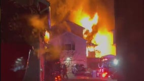 1 person killed, several hurt in explosive 2-alarm house fire in Renton