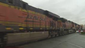 Pedestrian struck, killed by train in Monroe