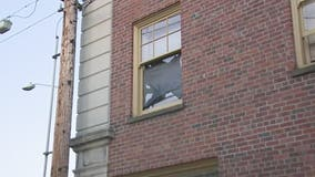Windows blown out after explosion at Everett apartment complex