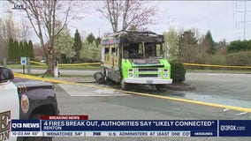 4 fires intentionally set in Renton overnight