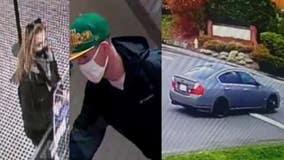 Newcastle Police seek ID of home burglary suspect seen going door-to-door; woman connected to case arrested