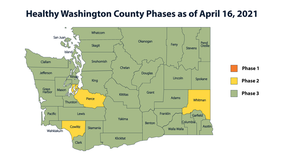 Pierce, Cowlitz and Whitman counties moving back to Phase 2 of reopening plan