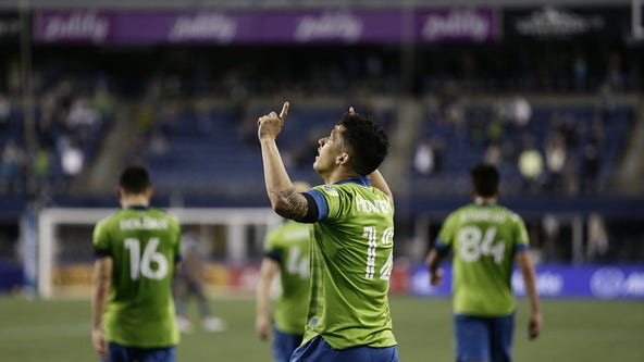 Sounders welcome fans back, thump Minnesota United 4-0