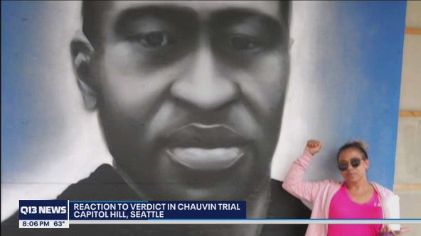 Locals in Seattle react to jury verdict in Chauvin trial