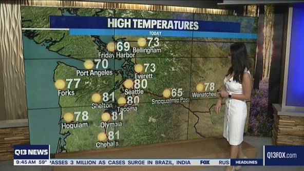 Sunshine and warm temps this weekend