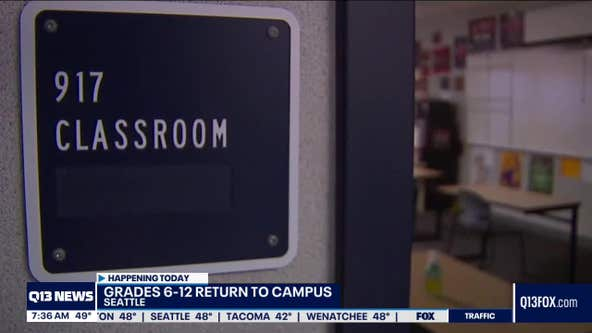 All Washington students will be learning in-person Monday
