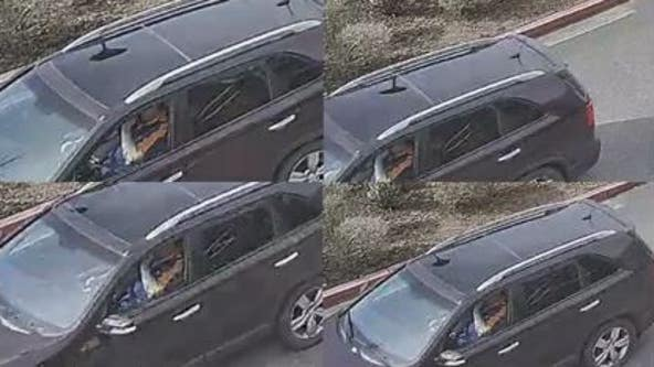 Help ID hit and run driver seen smashing into car in school district parking lot