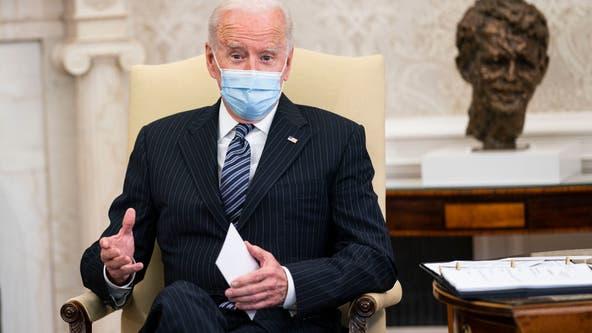 Biden says he's praying for 'right verdict' in Derek Chauvin trial, believes case is 'overwhelming'