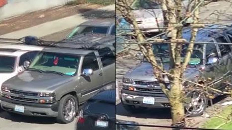FOUND: Stolen SUV suspects drove away from shooting scene