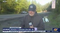 Deadly crash on SR-18