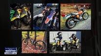 WANTED: Motorcycle-stealing garage burglar