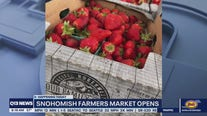 Opening Day at Snohomish Farmers Market