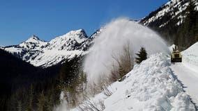 Chinook, Cayuse passes through Mt. Rainier National Park open Friday