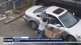 Woman seen on camera in Seattle purse-snatching incident says she fears for her safety