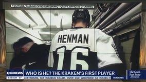 Seattle Kraken make first signing, ink Luke Henman to 3-year deal