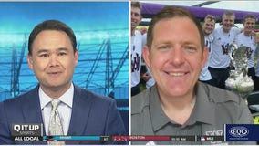 """UW men's rowing coach Michael Callahan joins """"Q It Up Sports"""" after school's 19th national championship"""