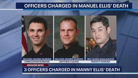 Tacoma officers charged in death of Manuel 'Manny' Ellis plead not guilty, bail out of jail