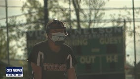 Parents concerned about kids wearing masks while competing in summer sports and activities