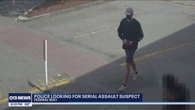 Woman in Federal Way wants suspect caught after multiple reports of him groping women