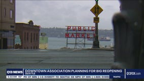 Downtown Seattle preps for big reopening