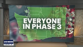 All Washington counties now in Phase 3 of reopening