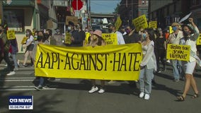 Family of murdered Bothell man joins rally to end Anti-Asian hate