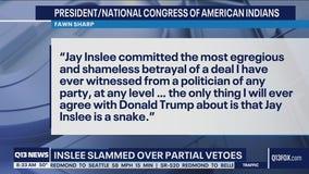 Inslee slammed over partial vetoes