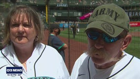 Seattle Mariners honors Gold Star Family at Memorial Day game
