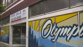 Non-profit says pandemic's economic impact in downtown Olympia not reflected in empty store fronts
