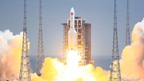 Chinese rocket falling to Earth, location of impact 'cannot be pinpointed'