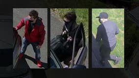 Surveillance video shows determined, destructive burglars in SeaTac who detectives hope you can help ID