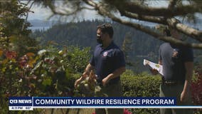 North Sound homeowners get help identifying wildfire danger risk to homes