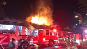 Fire rips through popular Western Washington breakfast restaurant