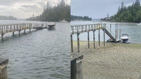 Peak spring tides create 19-foot tidal swing in Puget Sound