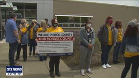 South Sound grocery workers denied hazard pay with veto threat