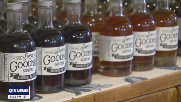 Garden to Glass: Pierce County sisters and farmers open soda fountain using their crops
