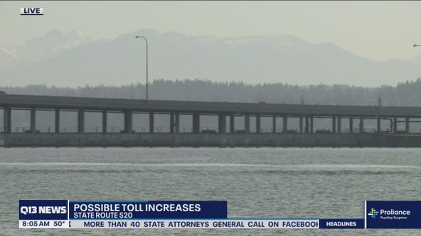 Washington Transportation Commission considers raising tolls, ferry fares