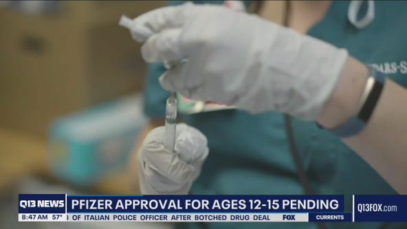 US expected to approve Pfizer vaccine for 12-15 year olds