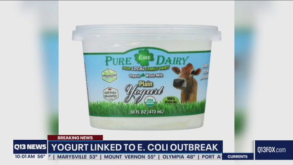 Yogurt linked to E. coli outbreak in multiple Washington counties
