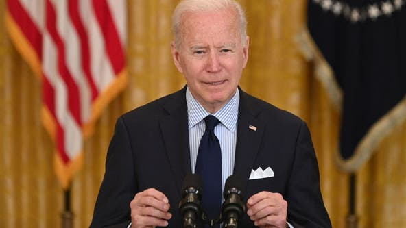 Biden says economic recovery a marathon, not a sprint amid weak jobs report