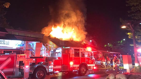 Fire rips through popular Western Washington breakfast restaurant